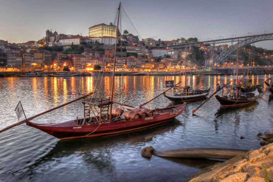 Boats of Douro, Portugal
